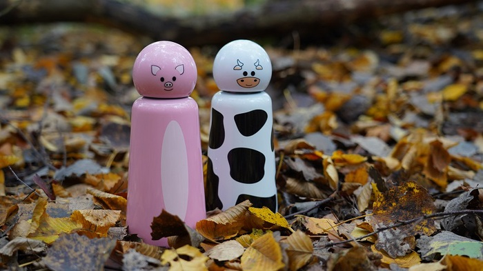 Lund London|Skittle 保溫瓶(300ml) - 企鵝 (7364)