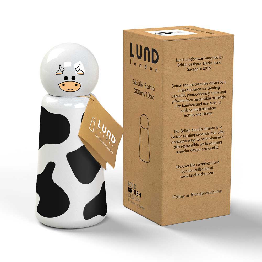 Lund London|Skittle 保溫瓶(300ml) - 牛 (7362)