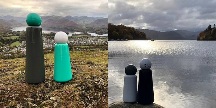 Lund London Skittle 保溫瓶(300ml) - 企鵝 (7364)