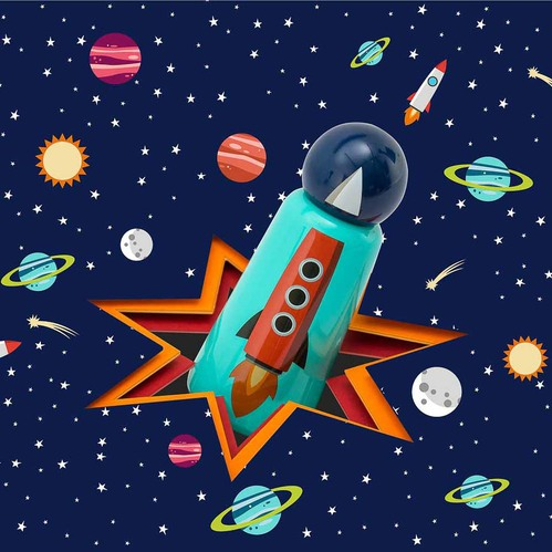 Lund London Skittle 保溫瓶(300ml) - 火箭 (7367)