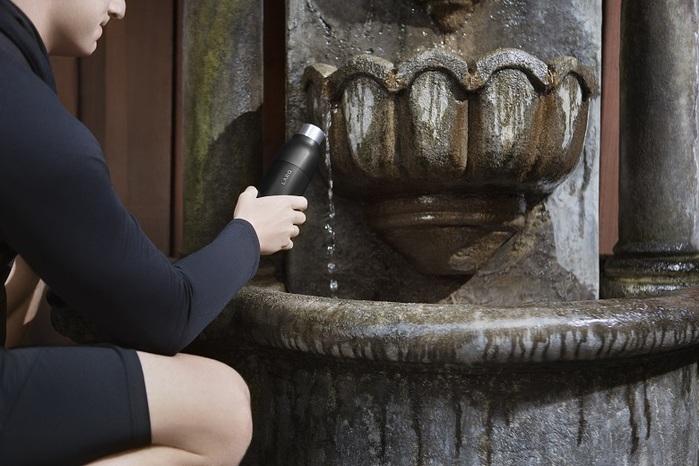 LARQ|智能淨化保溫瓶 (Bottle) 曜石黑