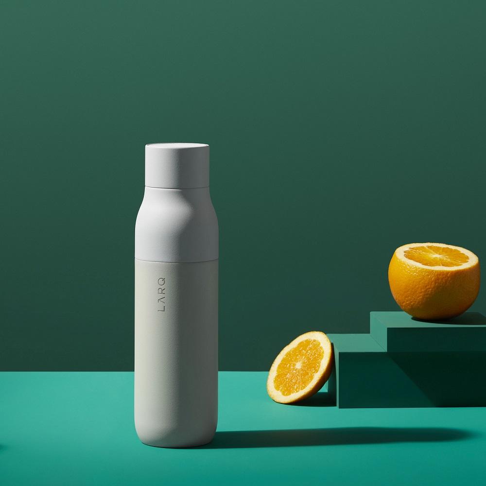 LARQ 智能淨化保溫瓶 (Bottle) 花崗岩白