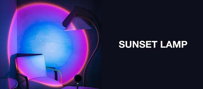 SUNSET LAMP 日落投射裝飾燈 - 彩虹款