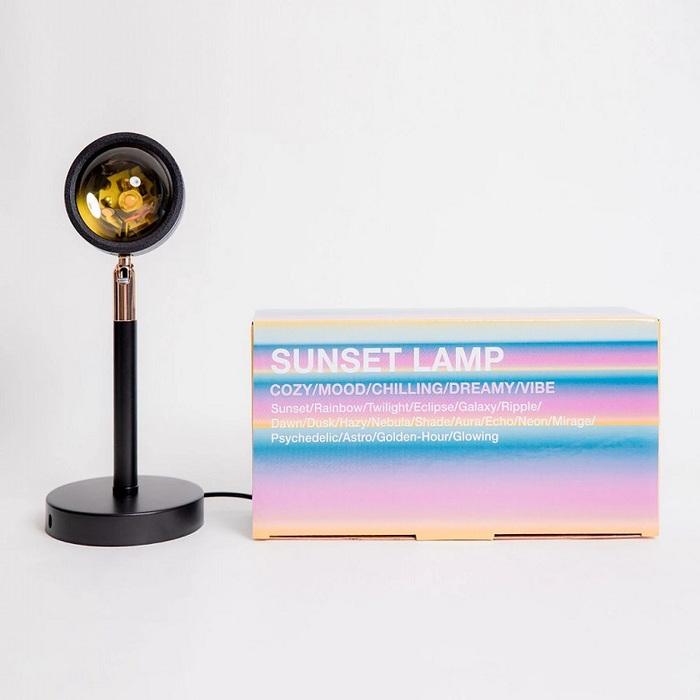 (複製)SUNSET LAMP 日落投射裝飾燈 - 彩虹款 (二入組)