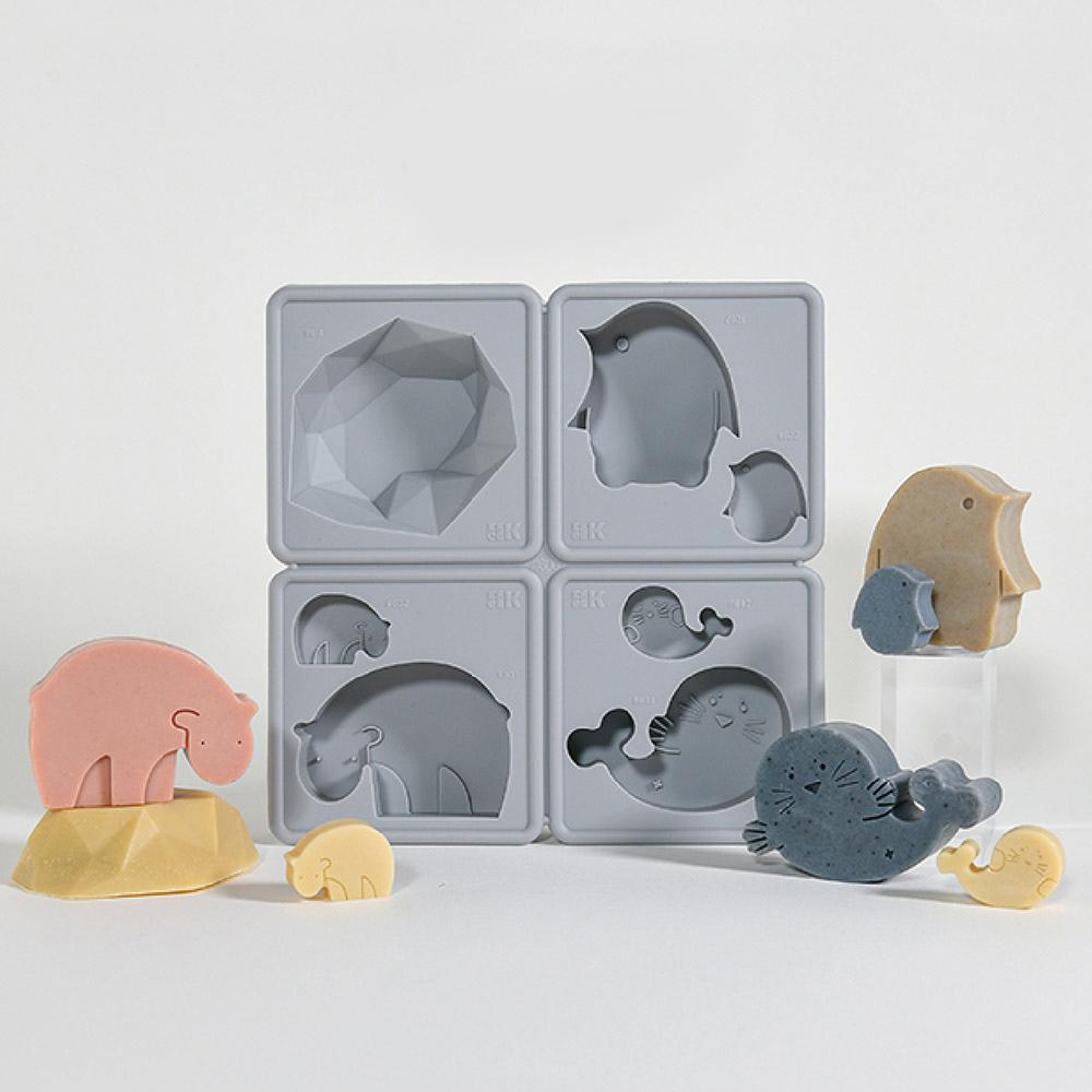 LESSDO eeeeK造型皂模-北極王國