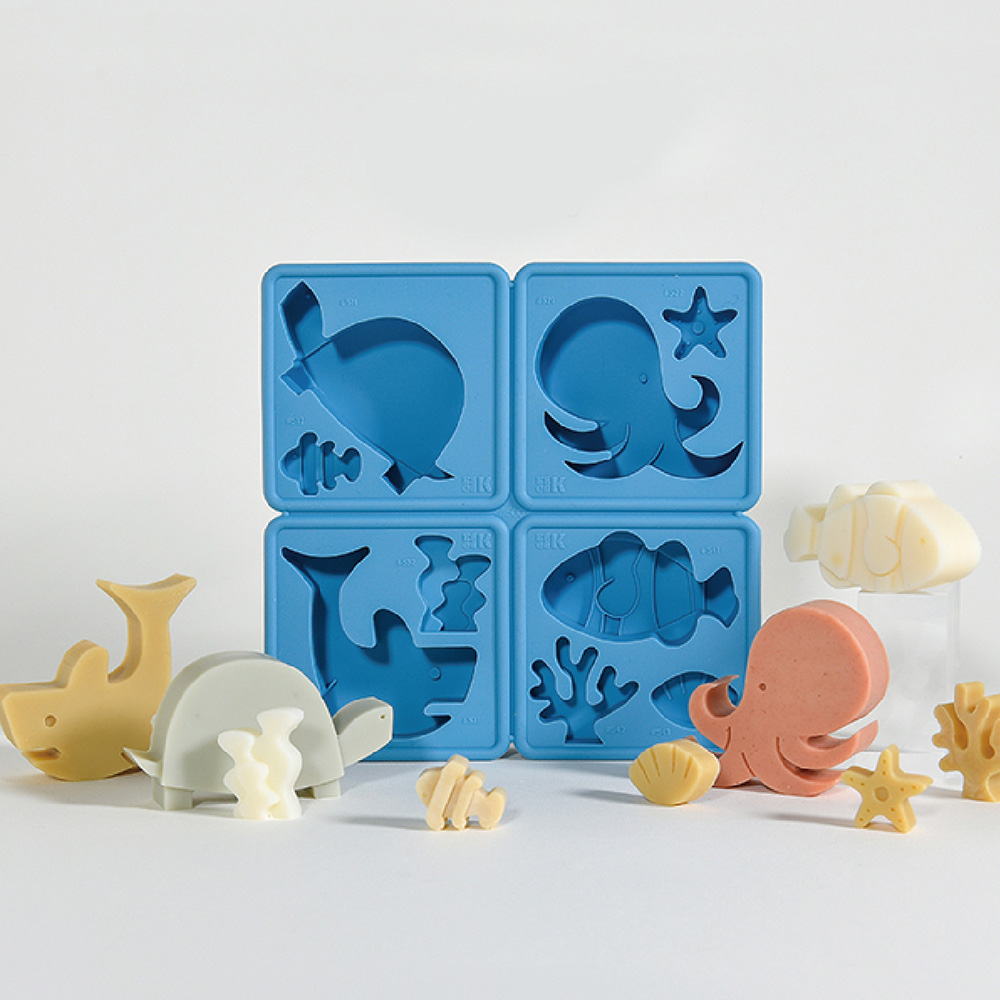 LESSDO|eeeeK造型皂模-海洋生物