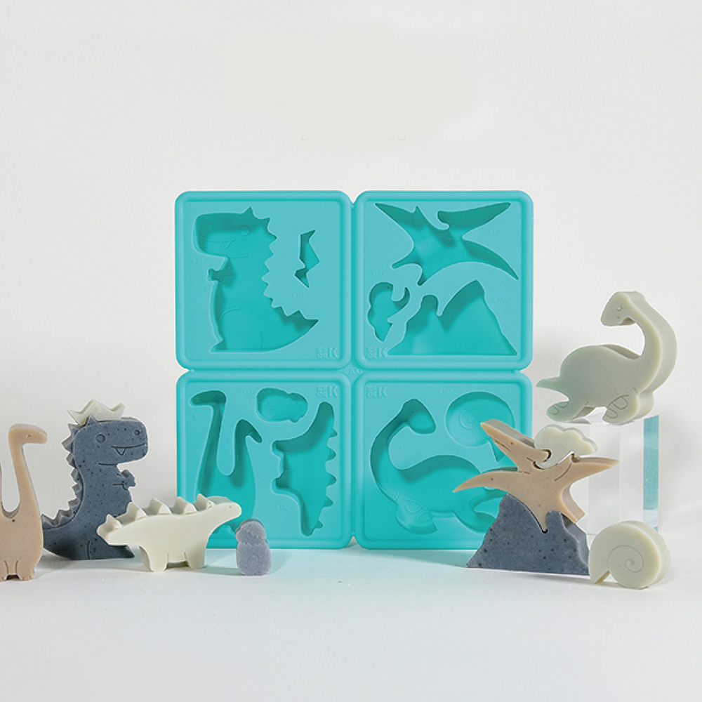 LESSDO eeeeK造型皂模-恐龍公園
