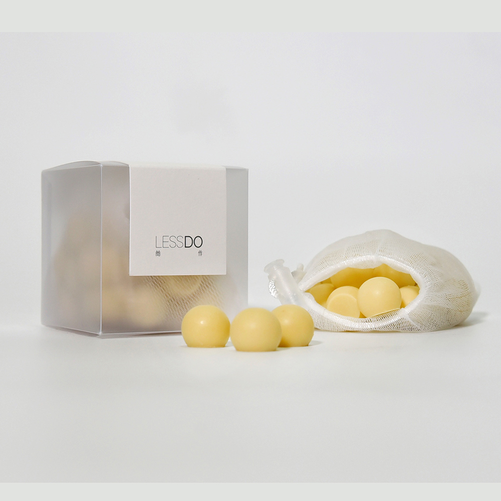 LESSDO|FACE SOAP手工彈珠潔顏皂-25入(含皂袋)-三入組