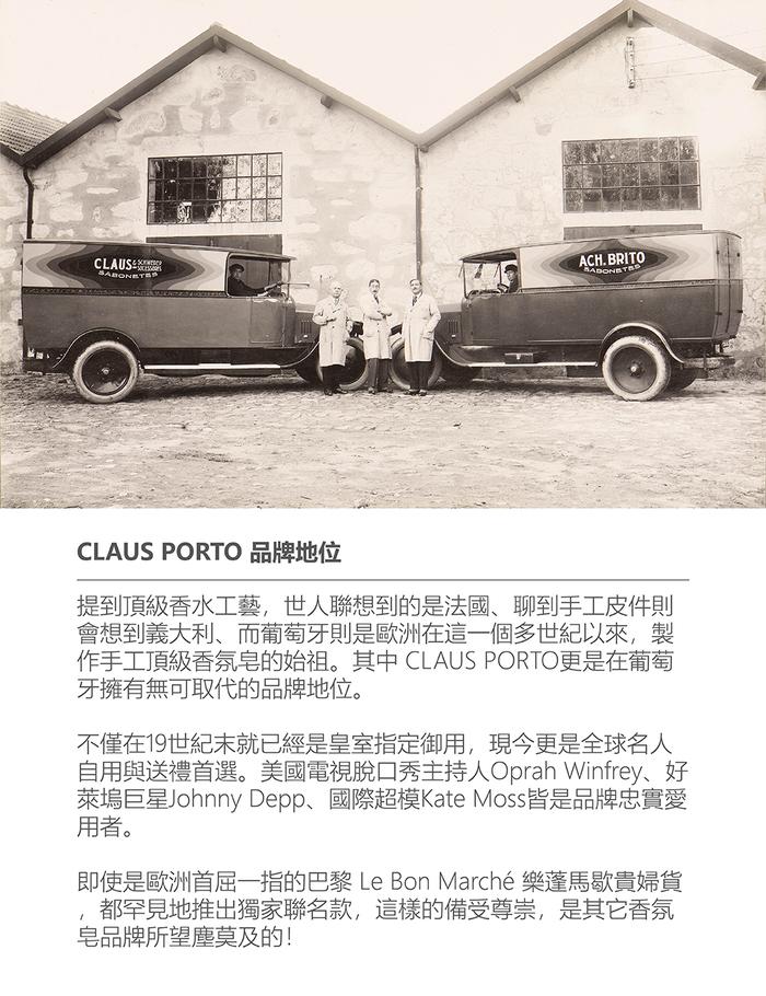 (複製)CLAUS PORTO|經典香氛潤膚組 紅底鞋女神 (雪松一品紅)
