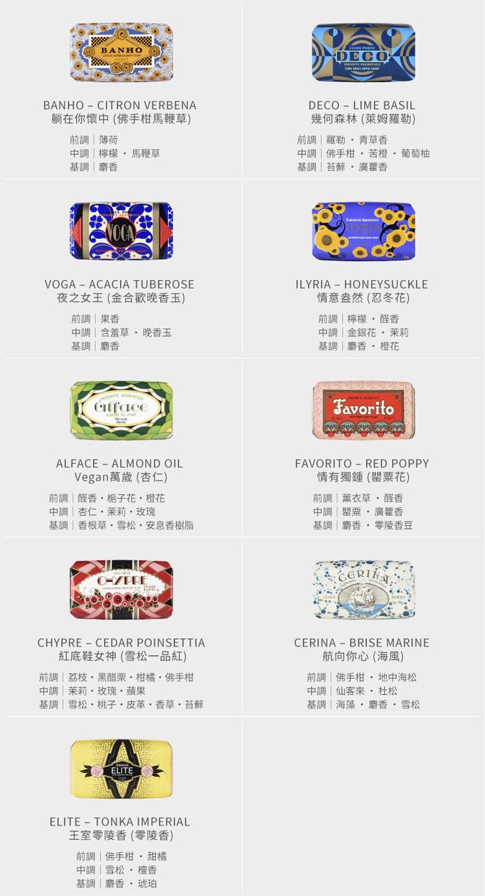 CLAUS PORTO|里斯本頌歌皇家迷你香氛皂禮盒組