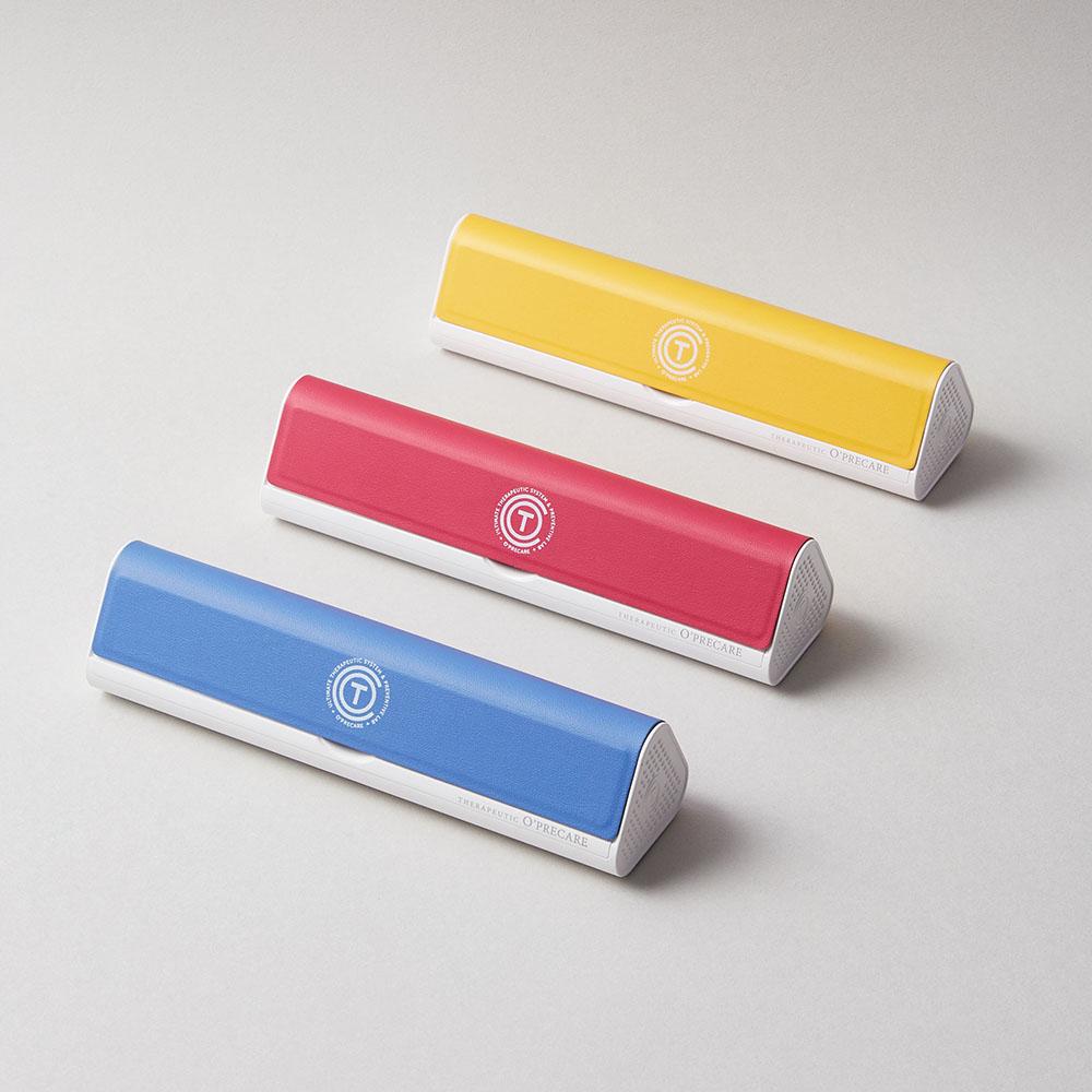 O'PRECARE|OKIT 攜帶式牙刷牙膏清潔組 蔓越莓紅【買一送一】