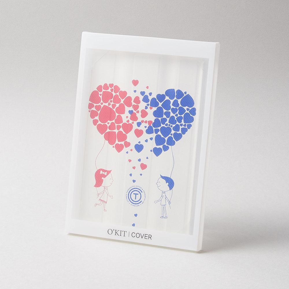 O'PRECARE|OKIT防水磁吸式盒套 甜蜜愛心