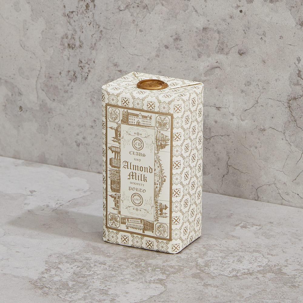 CLAUS PORTO|復古手工蠟封香氛皂150g 有你才完整(杏仁牛奶)