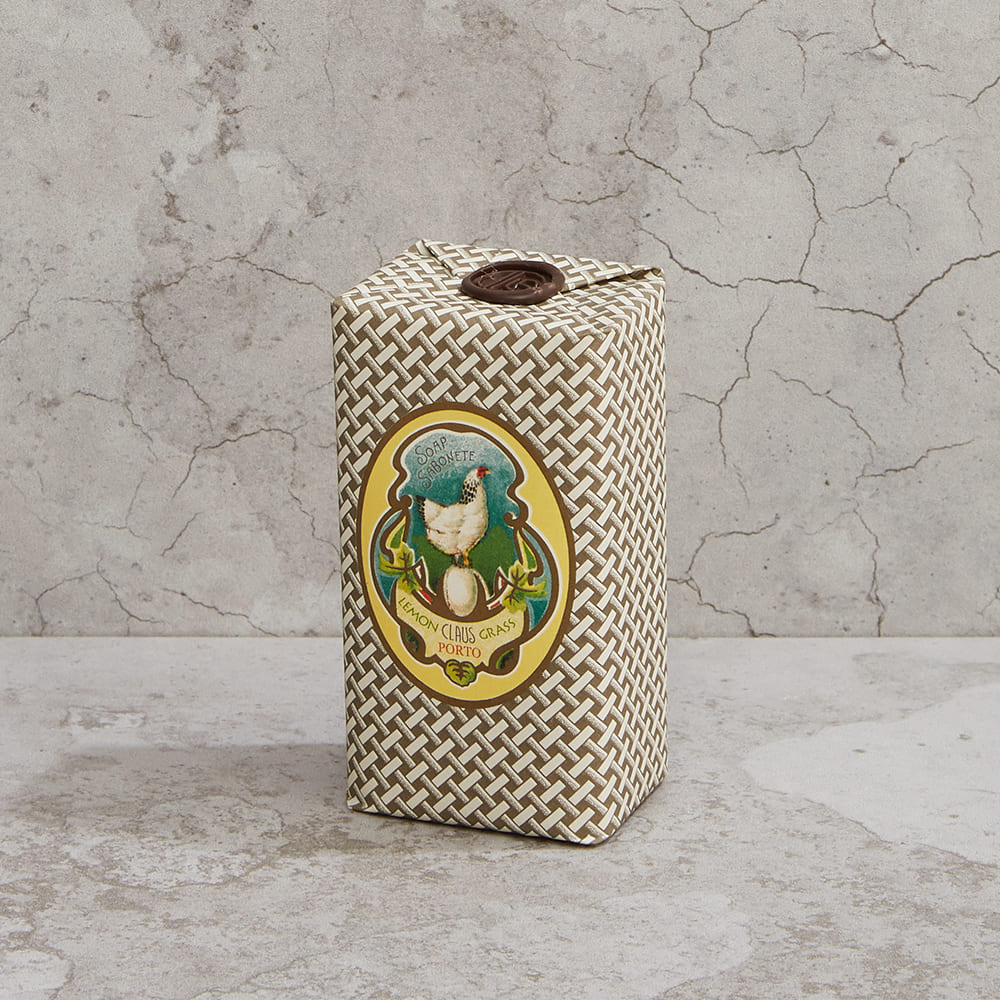 CLAUS PORTO|復古手工蠟封香氛皂150g 反璞歸真(檸檬草)