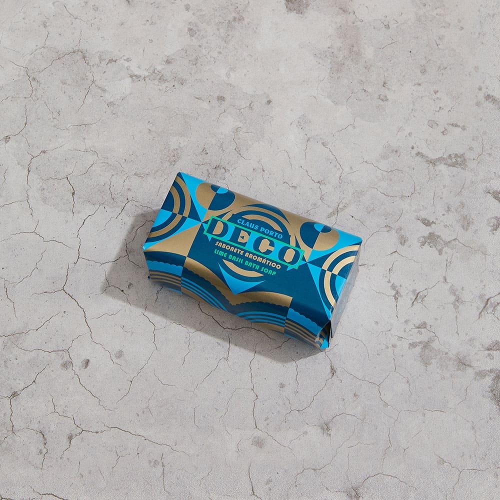 CLAUS PORTO|里斯本頌歌皇家迷你香氛皂 50g 幾何森林(萊姆羅勒)