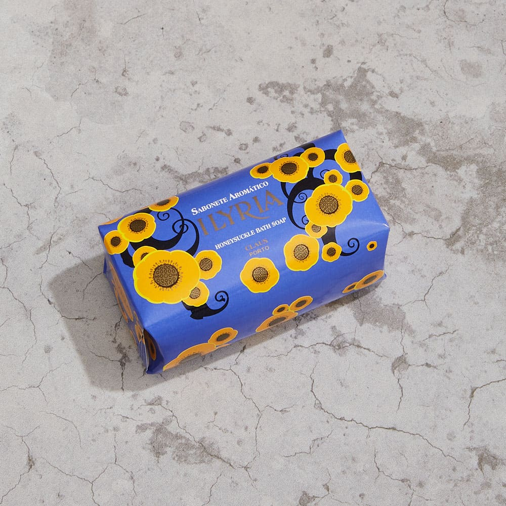 CLAUS PORTO|里斯本頌歌皇家香氛皂 150g 情意盎然(忍冬花)