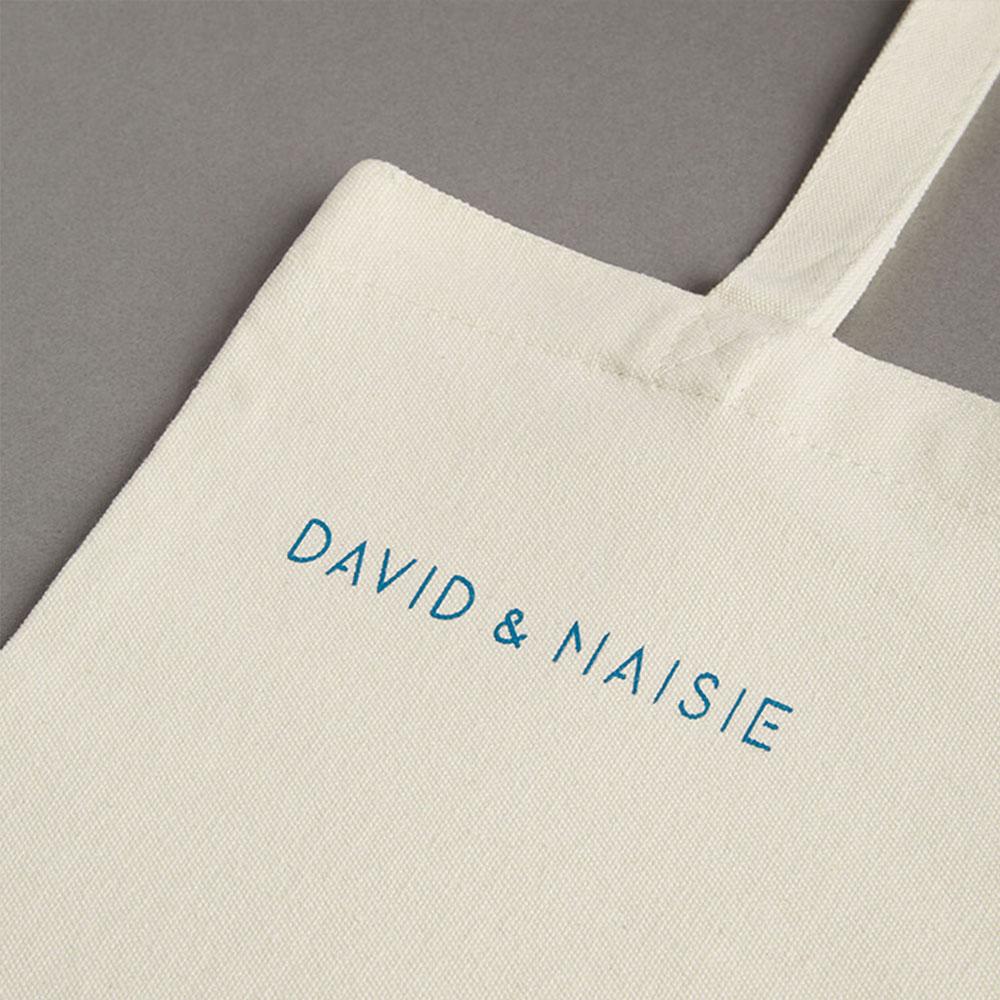 DAVID & MAISIE|純棉手提帆布袋