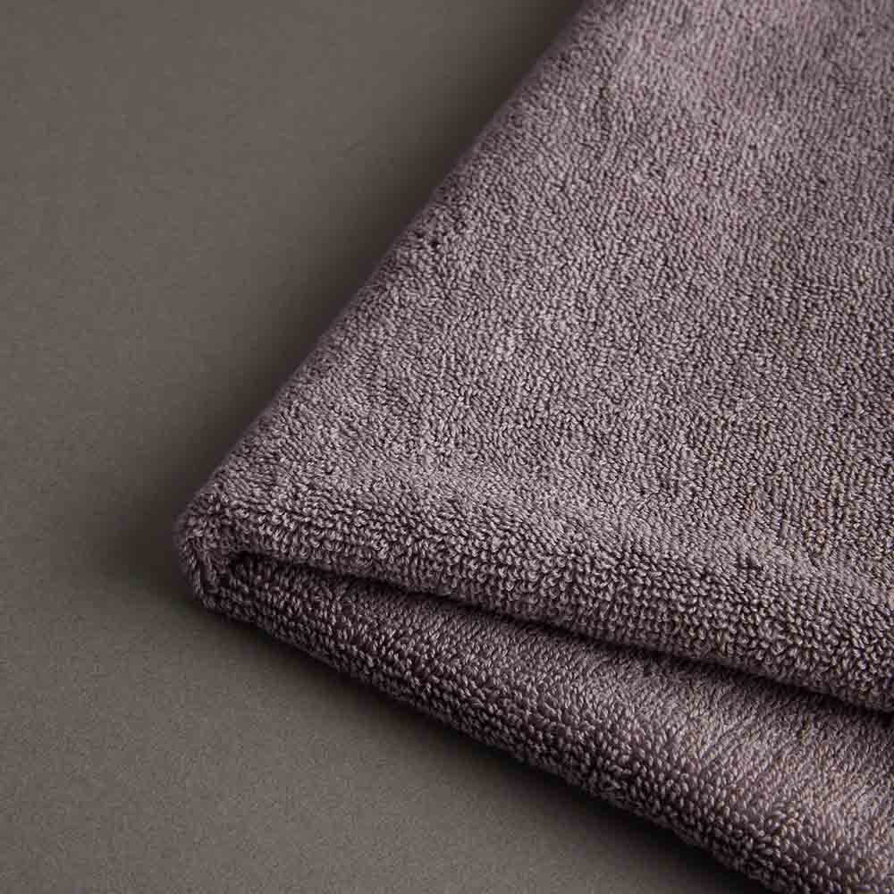 DAVID & MAISIE 100%純棉柔軟浴巾 靜謐紫