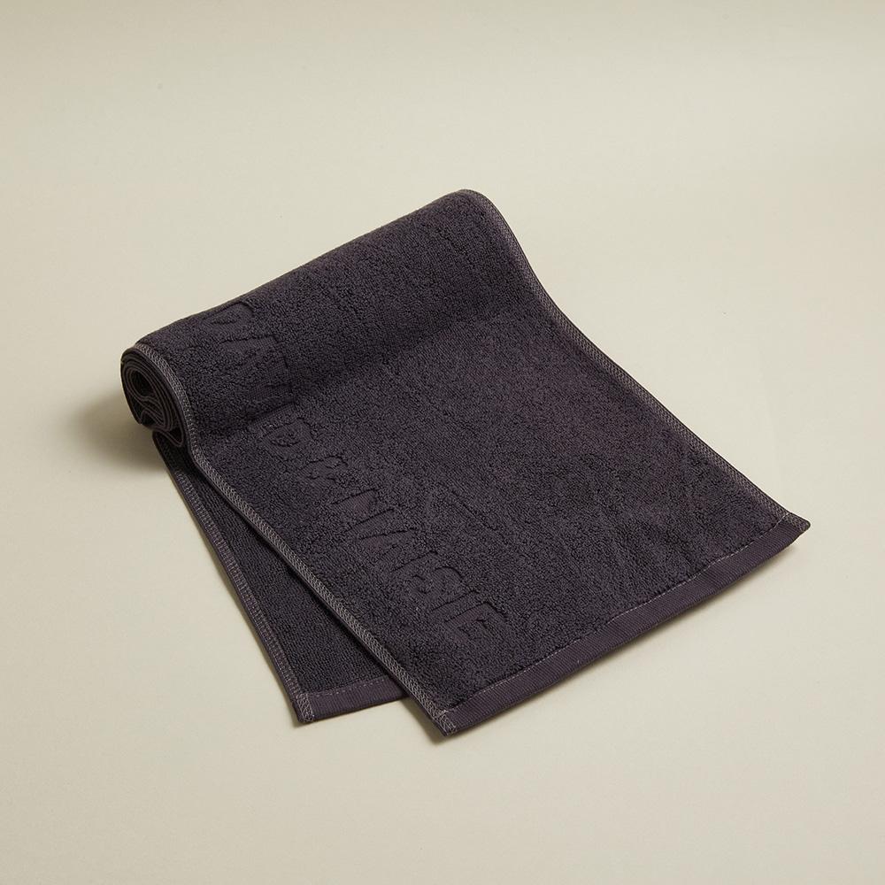 DAVID & MAISIE|100%純棉運動毛巾 藏墨灰