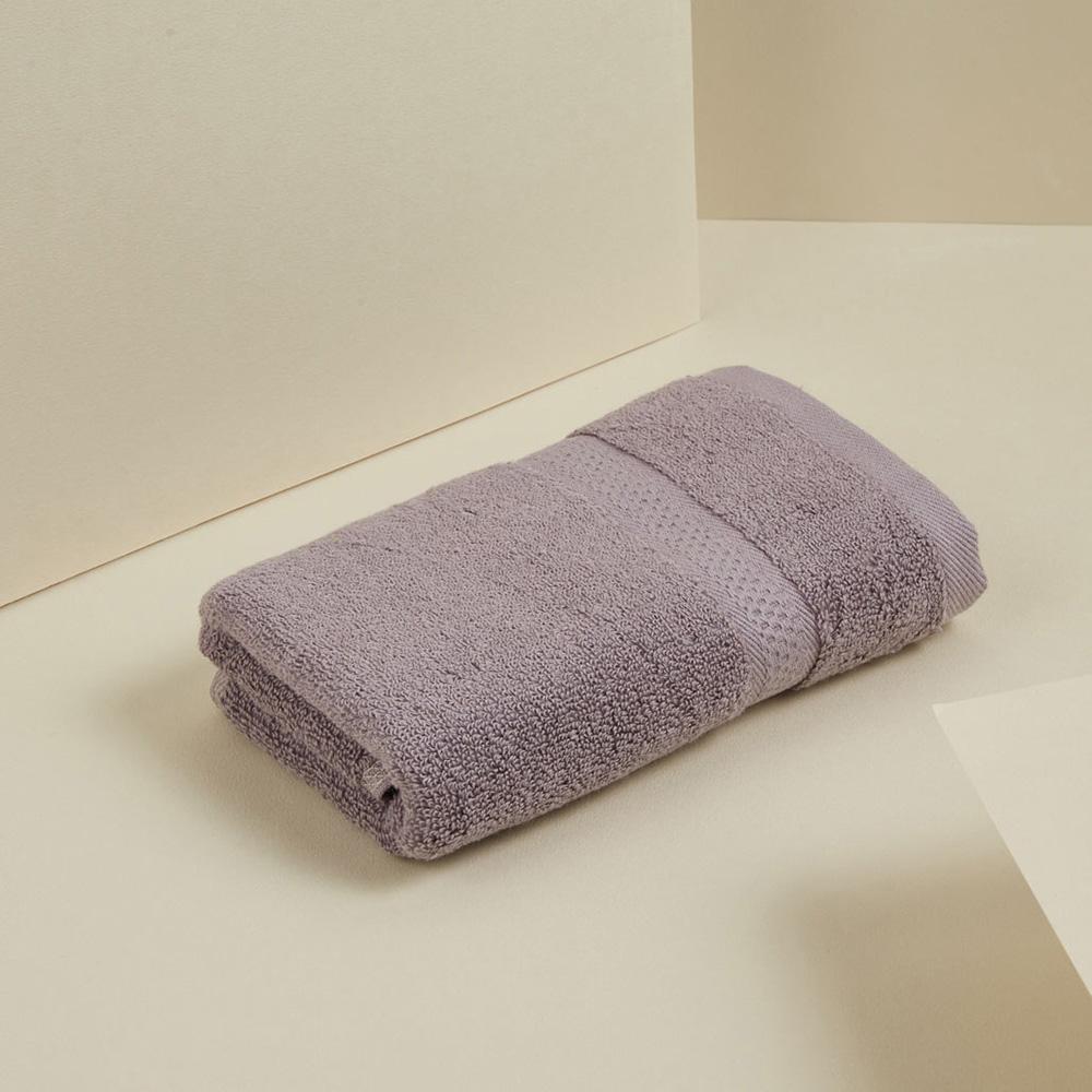 DAVID & MAISIE|純棉無撚紗絲柔洗臉毛巾兩件組