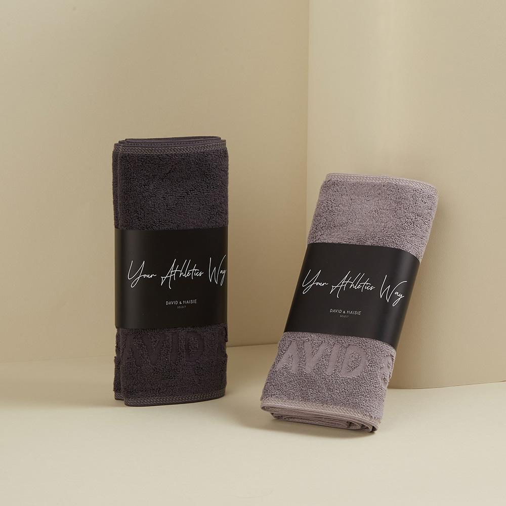 DAVID & MAISIE 運動毛巾兩件組