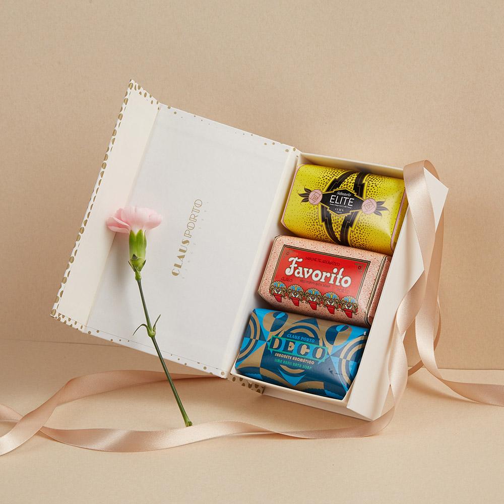 CLAUS PORTO|里斯本頌歌皇家香氛皂禮盒 150g x 3入