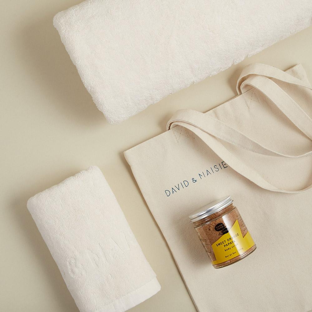 DAVID & MAISIE | 毛巾浴巾袋組