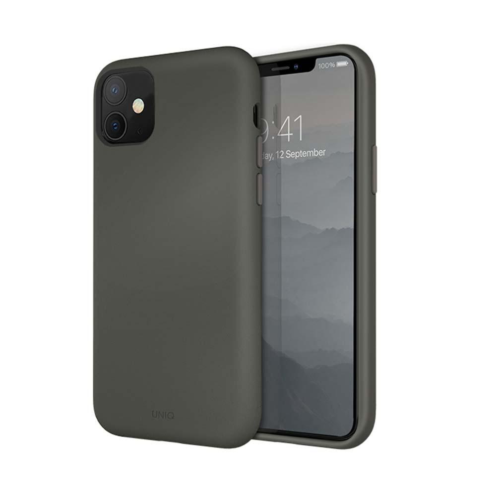 UNIQ|LinoHue 素色液態矽膠防摔殼-iPhone11/Pro/ProMax