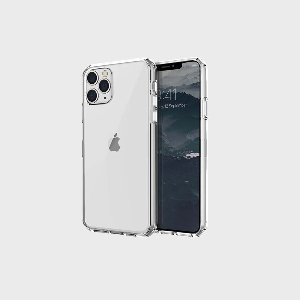 UNIQ|Lifepro 超透亮防摔 雙料保護殼-iPhone11/Pro/ProMax