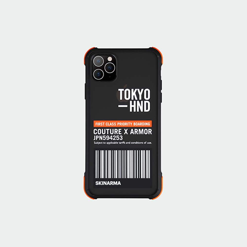 Skinarma日本潮牌 Bando Sheer 耐衝擊防摔透明手機殼 iPhone 11/Pro/Max