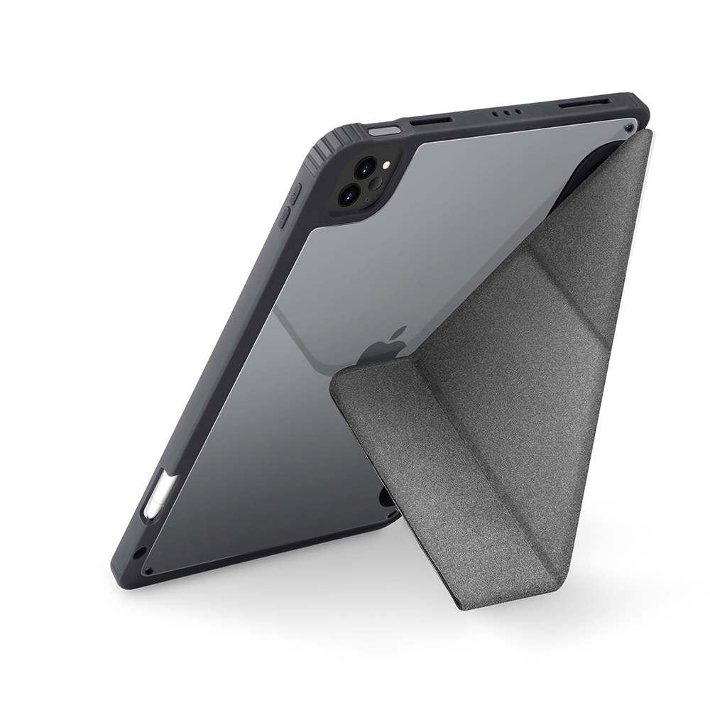 UNIQ Moven 抗菌磁吸帶筆槽透明平板保護套 iPad Pro 11吋 & 12.9吋 (2021)