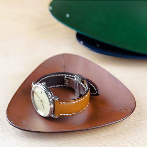 偶物 OU object|手工植鞣萬用雜物收納盤 (小)