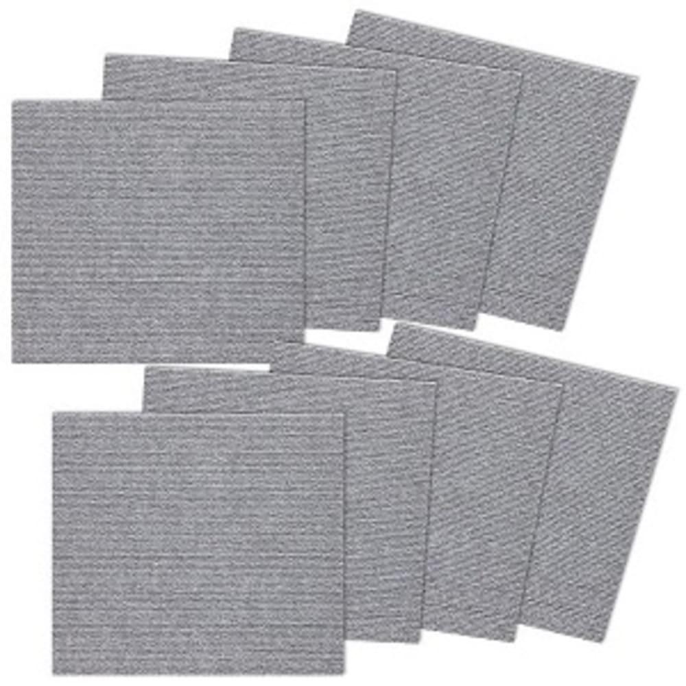 SANKO 防潑水止滑巧拼地墊 1組8片裝(淺灰色)