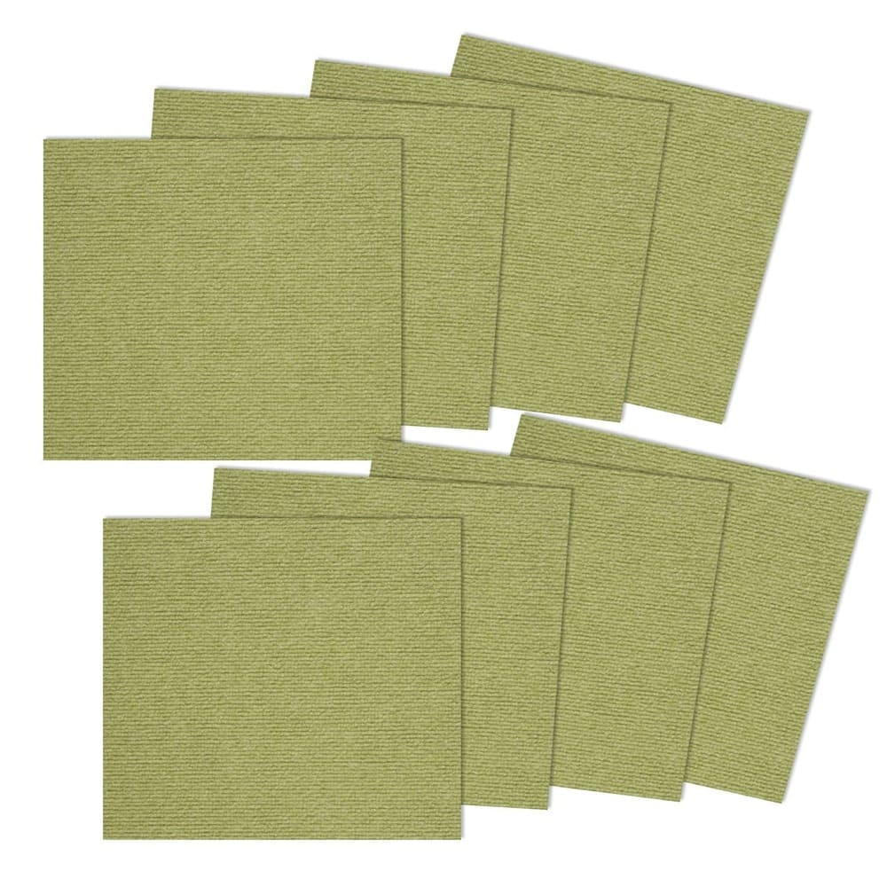 SANKO 防潑水止滑巧拼地墊 1組8片裝(綠色)