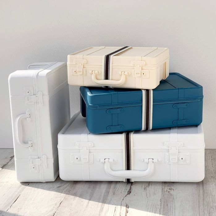 Hachiman-Kasei 八幡化成 |TRUNKSTORY 復古造型 行李收納箱 MINI
