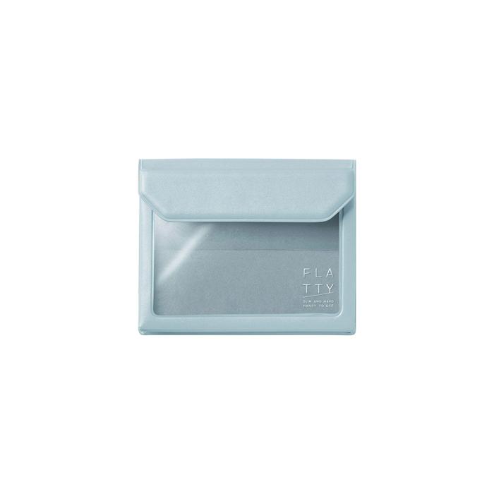 KING JIM|FLATTY多用途收納袋 名片尺寸 (5356)