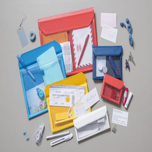KING JIM FLATTY多用途收納袋 信封尺寸 (5362)
