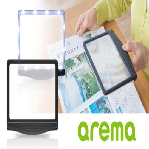 KING JIM|Areme LED閱讀用手持放大鏡 (AM50)