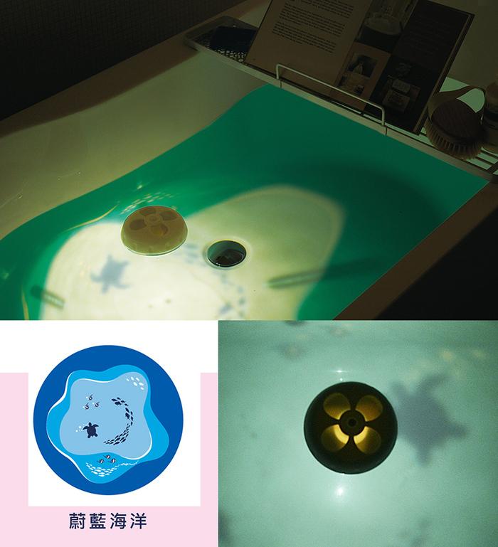 【日本LADONNA】 YURA泡澡漂浮香氛儀(粉)