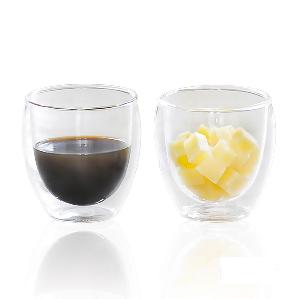 Bodum|雙層玻璃杯 0.25L(兩入組)