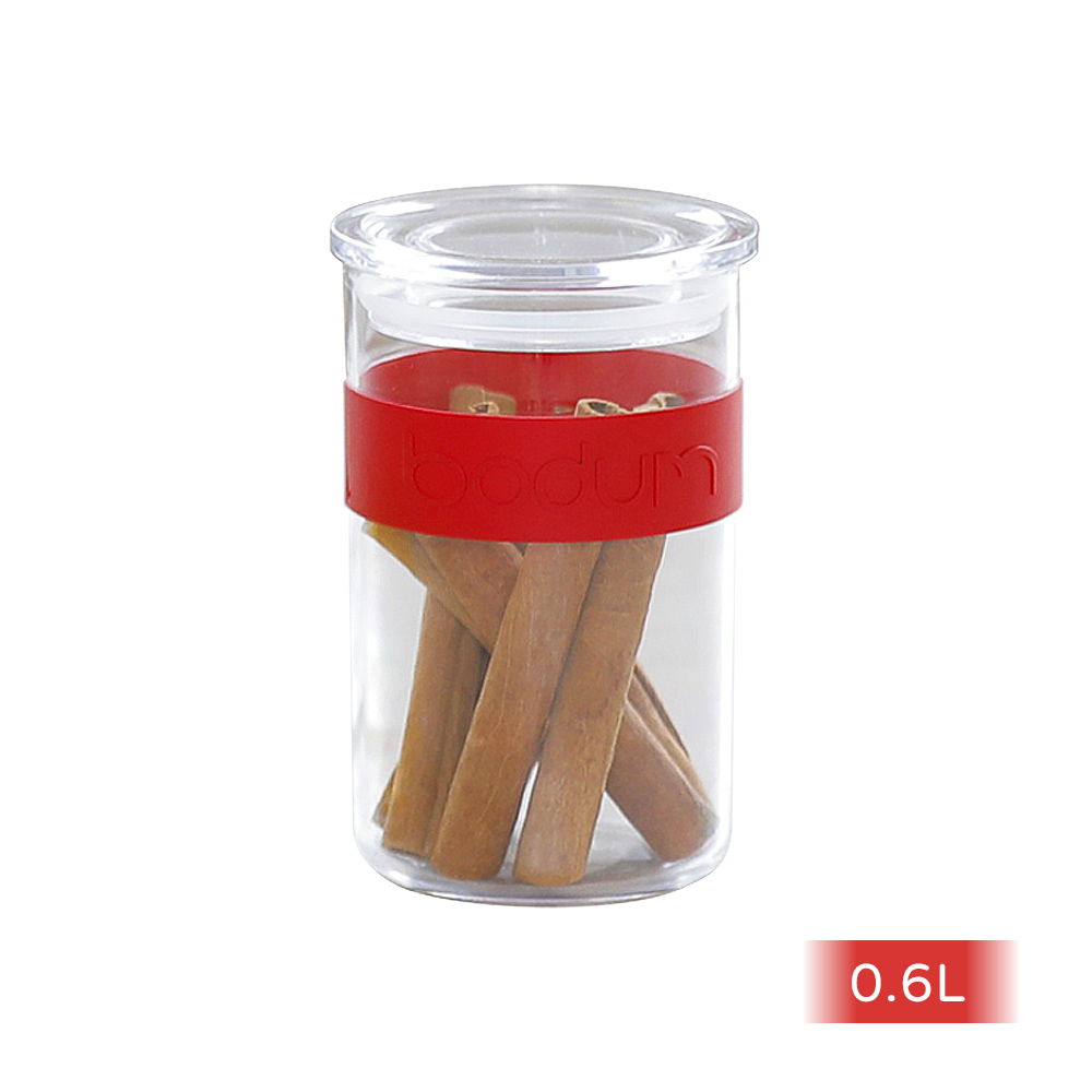 Bodum   儲物罐 紅 / 白 (各一)