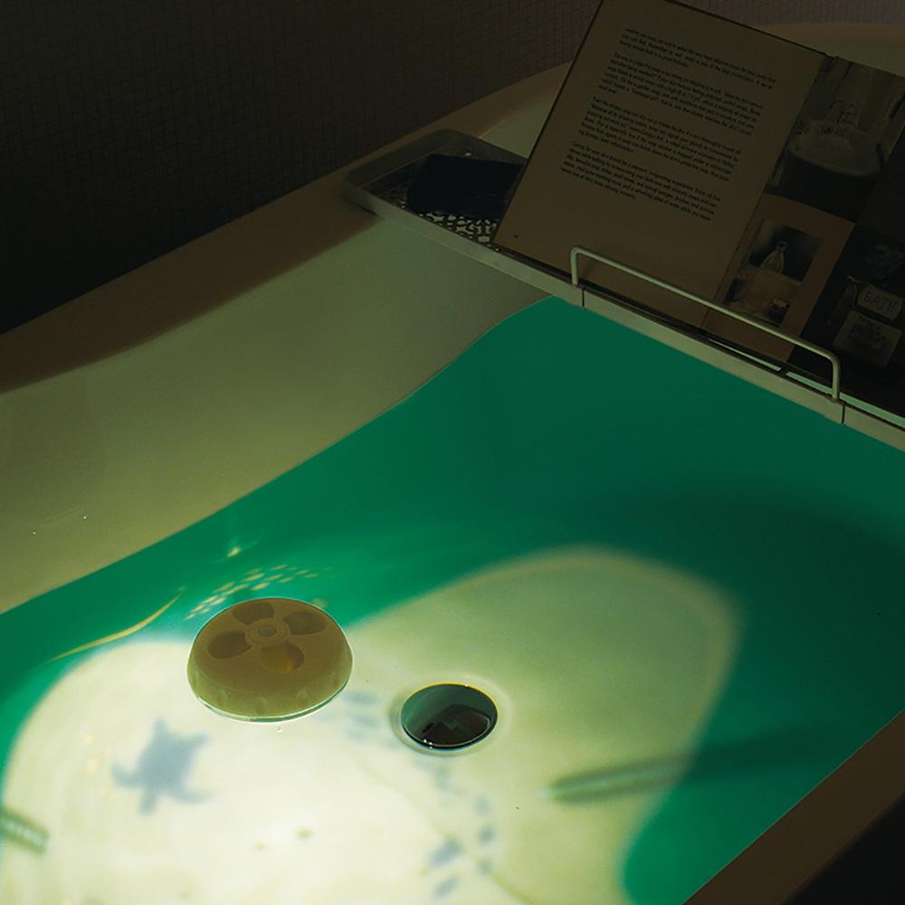 日本LADONNA|YURA泡澡漂浮香氛儀(粉)