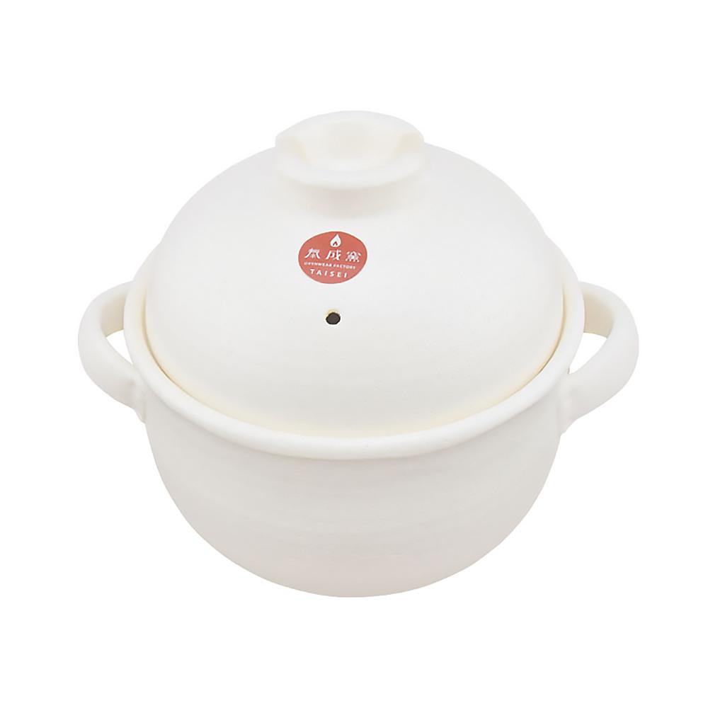 日本泰成窯|萬古燒 4合炊飯土鍋(二重蓋)