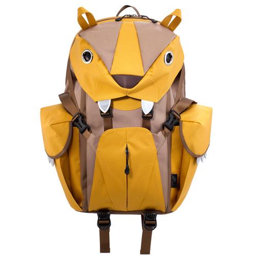 Morn Creations|正版可愛老虎電腦背包 BC-220-MU 黃色