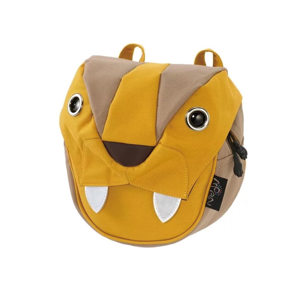 Morn Creations|正版可愛老虎大腰包 BC-210-MU 黃色