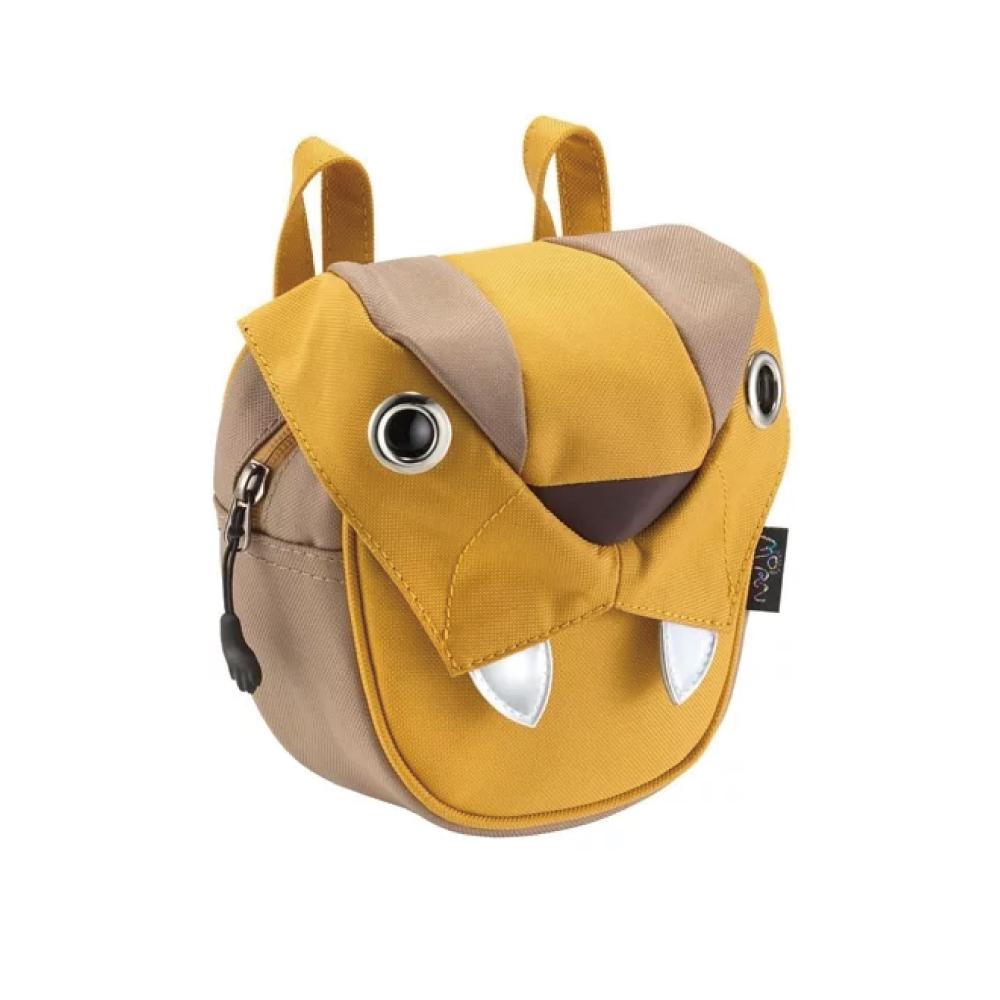 Morn Creations|正版可愛老虎小包 BC-205-MU 黃色