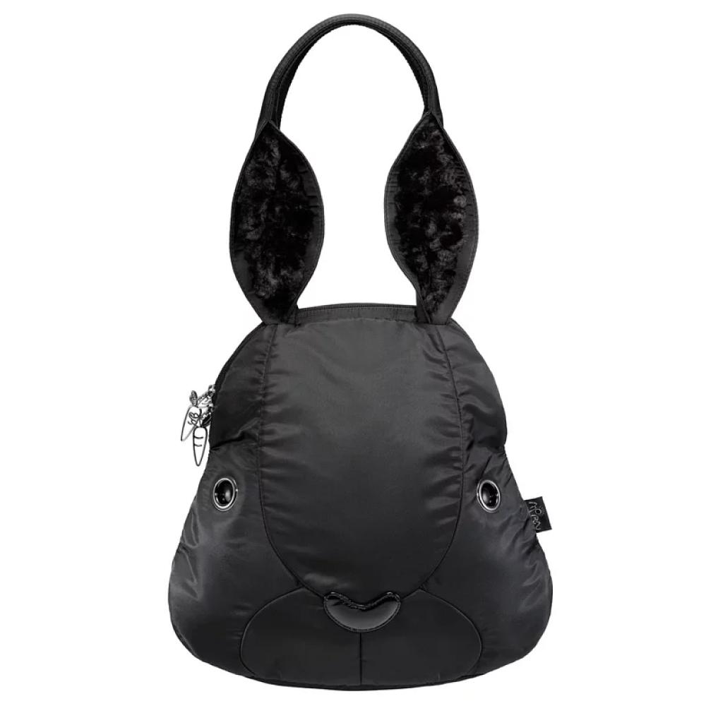 Morn Creations|正版可愛兔子後背包 RA-703-BK 黑色 (L)