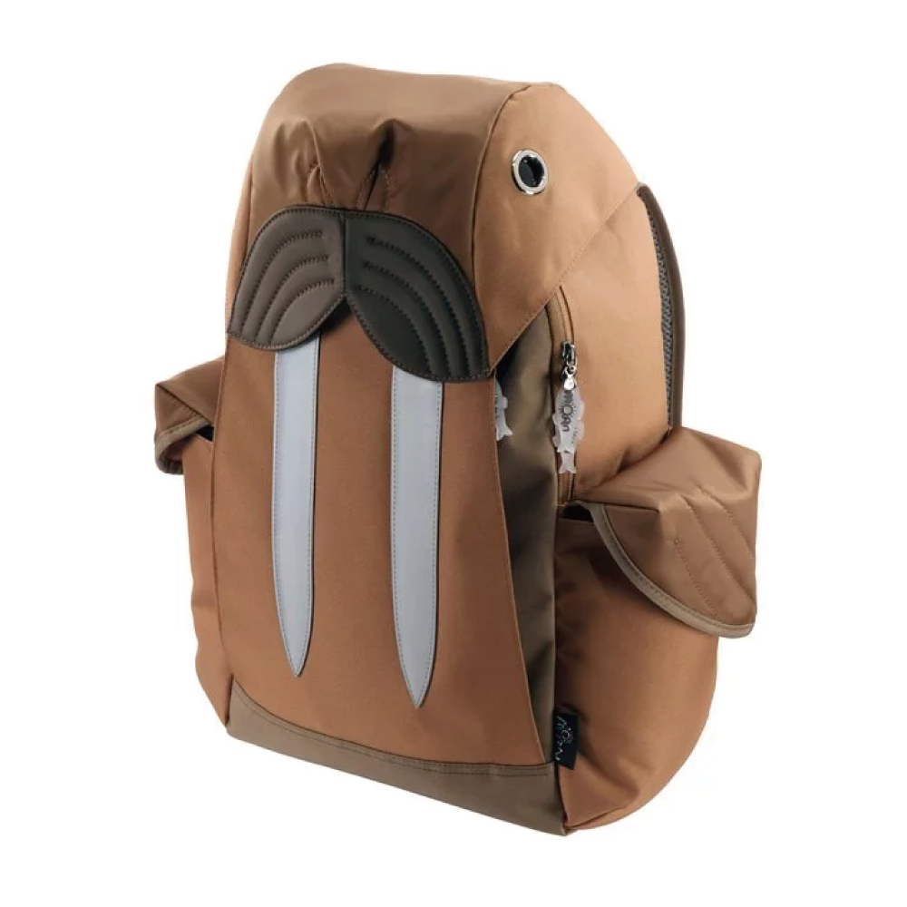 Morn Creations|正版海象後背包 WS-101-BR 咖啡