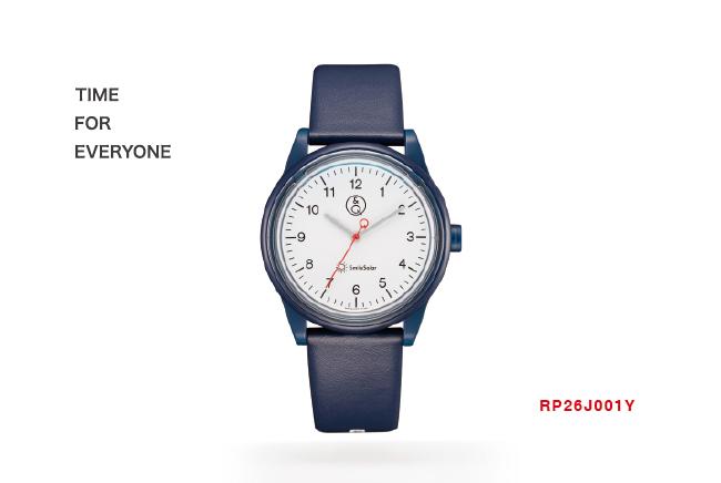 Q&Q SmileSolar 喀什米爾系列太陽能手錶-海軍藍Medium/35mm