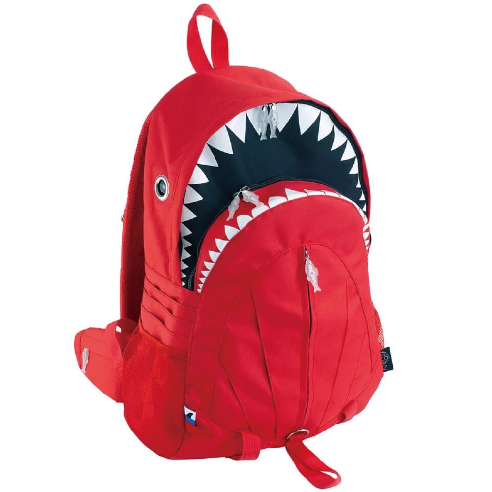 Morn Creations|正版鯊魚背包 SK-109-RD (XL) 紅